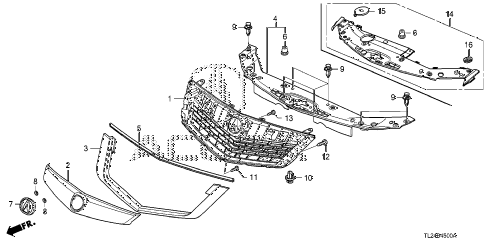 Acura Tsx Parts Diagram Product Wiring Diagrams - Acura tsx performance parts