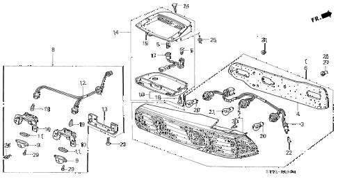 Acura Integra Wiring Diagram For Tail Lights