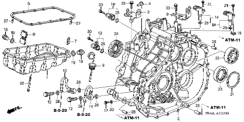 2001 Honda Civic Transmission Diagram Trusted Wiring Diagram Rh Dafpods Co  1998 Honda Civic Suspension Diagram 2004 Honda Civic Manual Transmission  Diagram