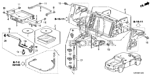 SJC4B1120E honda online store 2013 ridgeline navigation system parts honda ridgeline wiring diagram at crackthecode.co