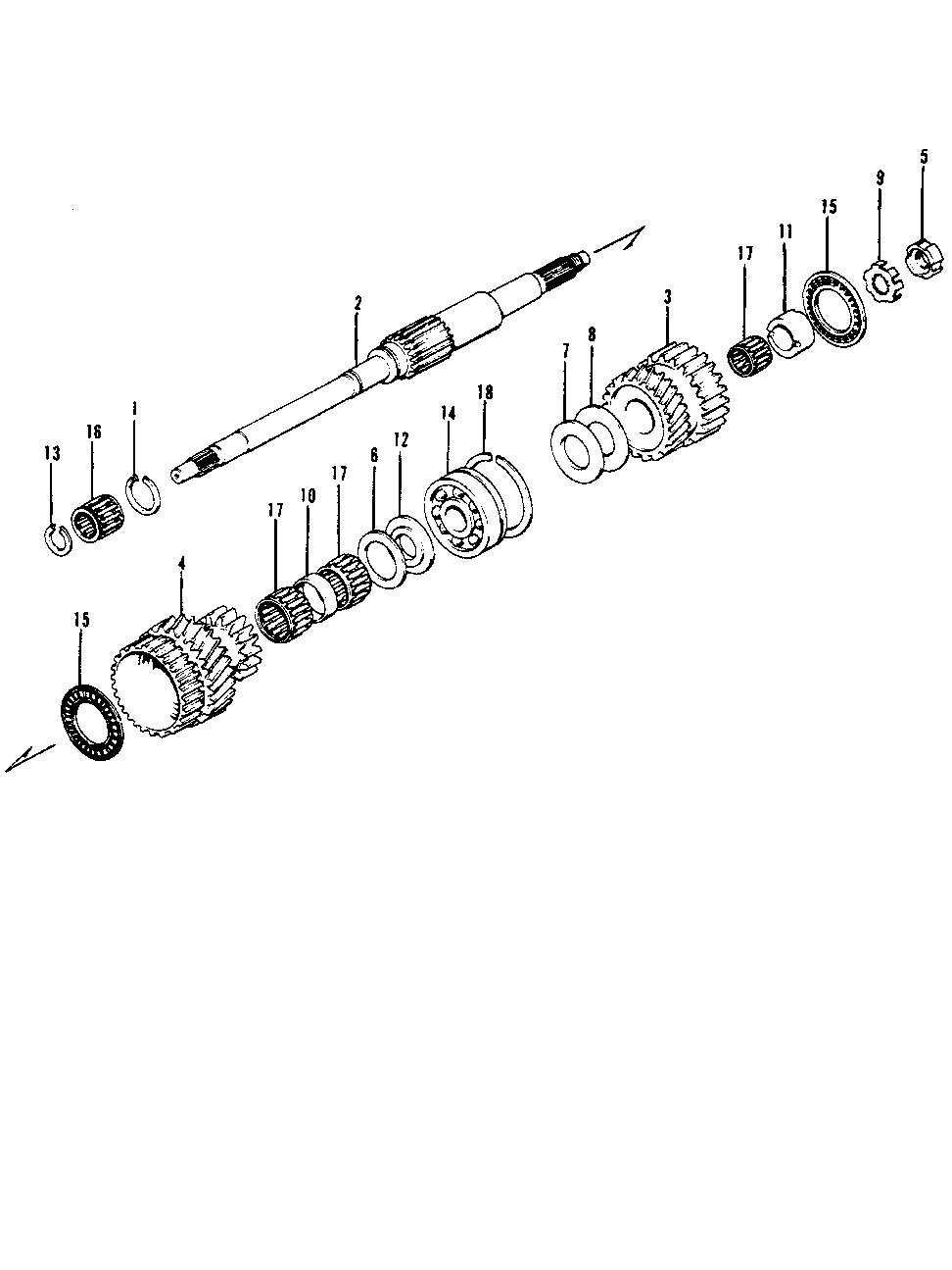 23411-639-010 - GEAR (LOWER)