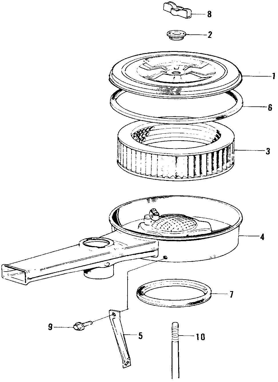 17220-PA1-602 - ELEMENT, AIR CLEANER