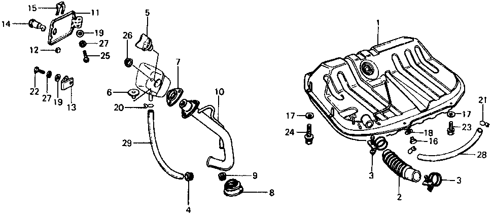 17651-673-030P - TUBE, FILLER NECK CONNECTING