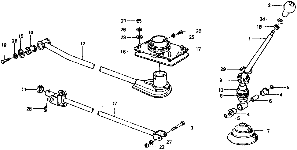 54109-692-000 - BOOT, GEARSHIFT LEVER