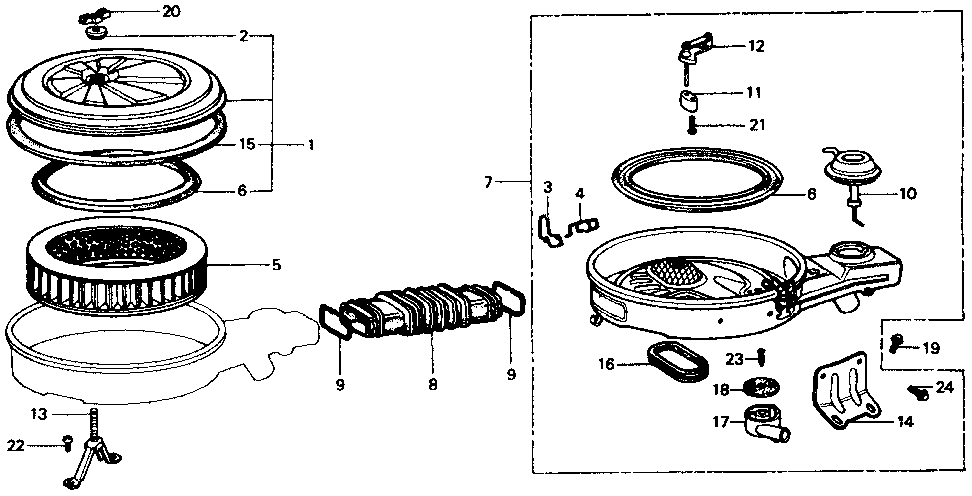 17220-PA6-013 - ELEMENT, AIR CLEANER