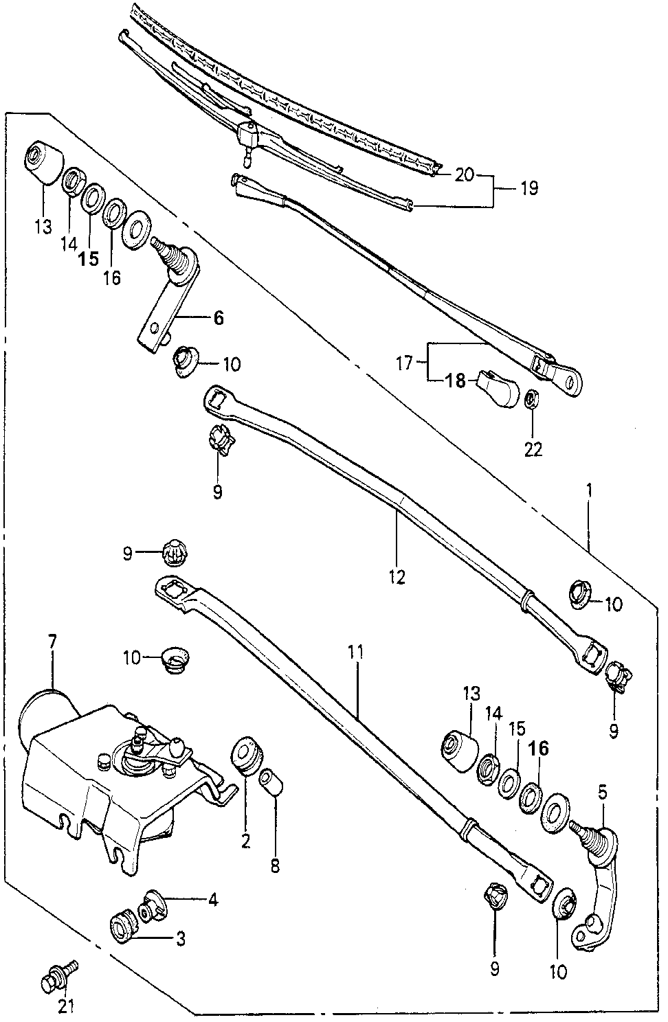 38414-671-662 - ROD A, CONNECTING