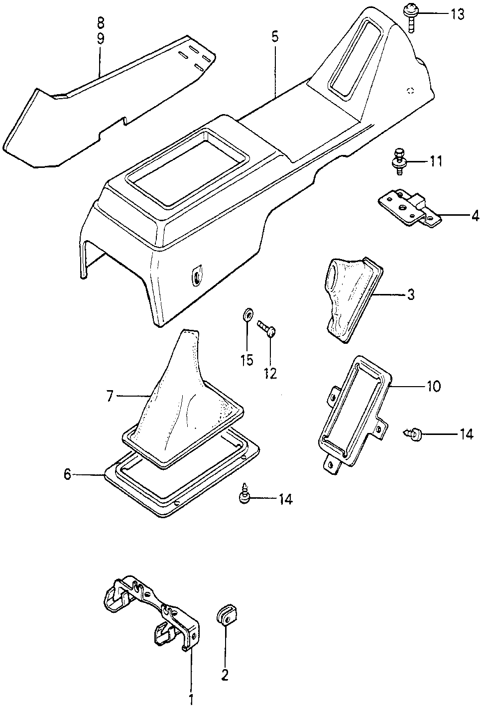 77704-692-000 - PLATE, BOOT SETTING