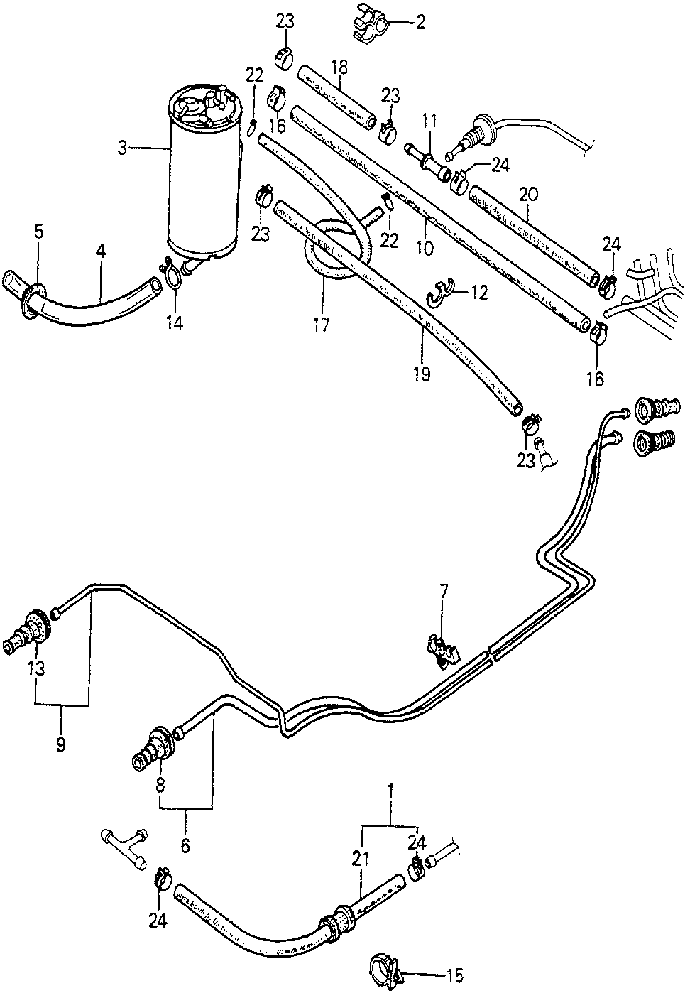 17706-692-003 - CLAMP, FUEL PIPE