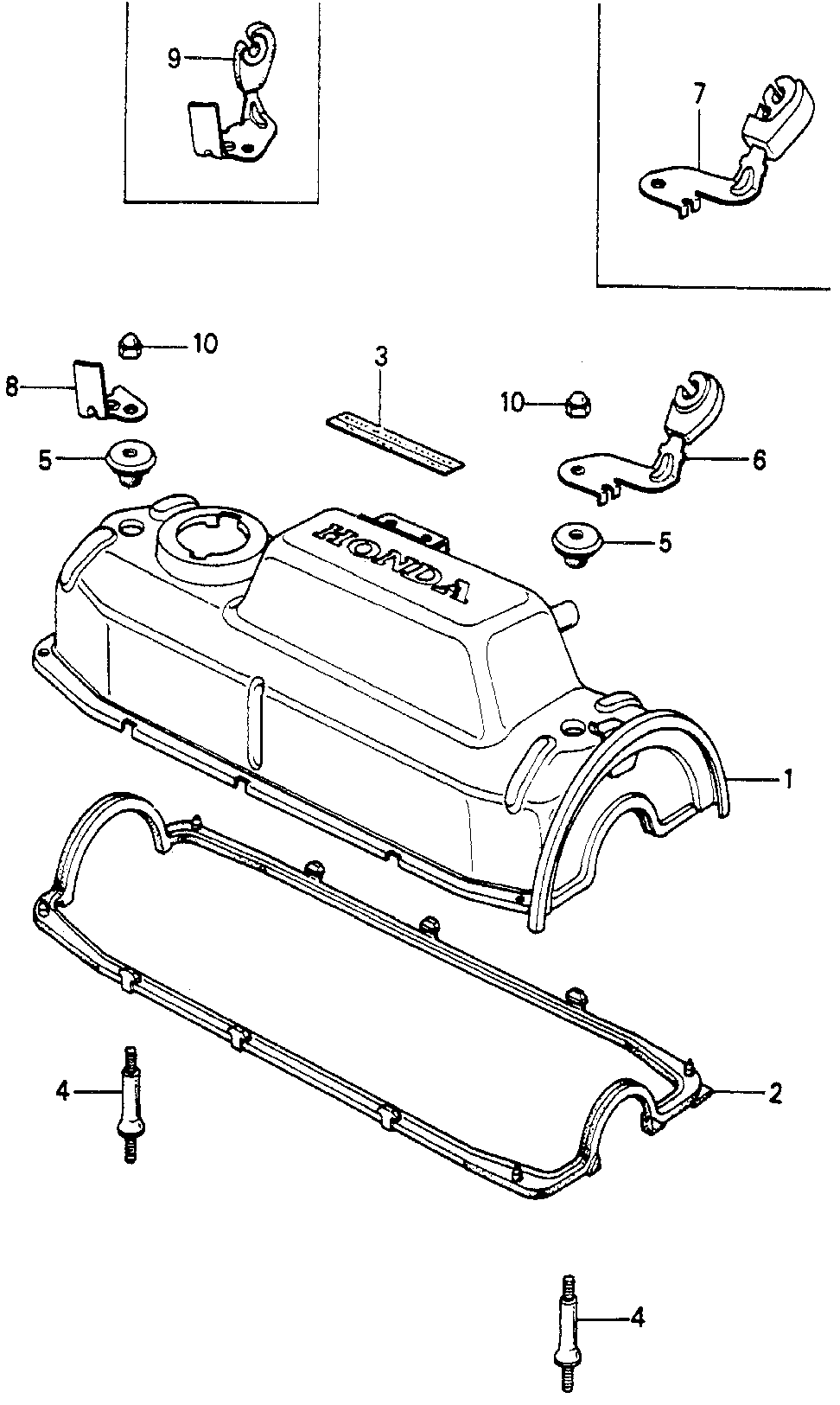 12341-PC1-010 - GASKET, HEAD COVER