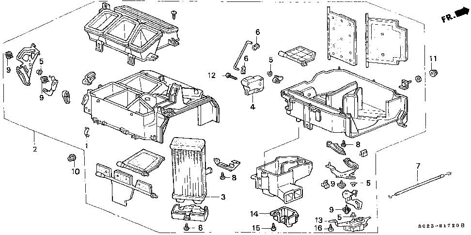 79544-S02-A11 - CABLE, WATER VALVE CONTROL