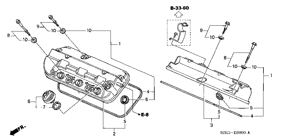 15613-PC6-000 - GASKET, OIL FILLER