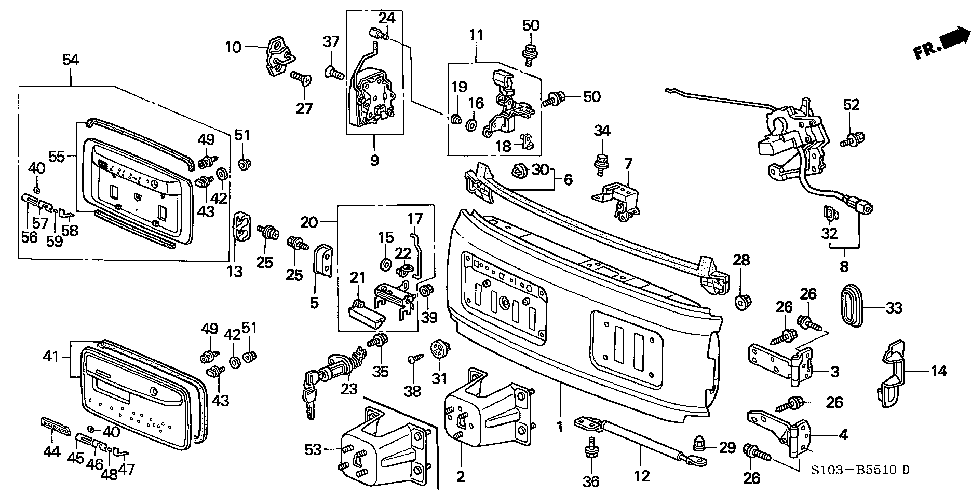 74853-S10-003 - WASHER