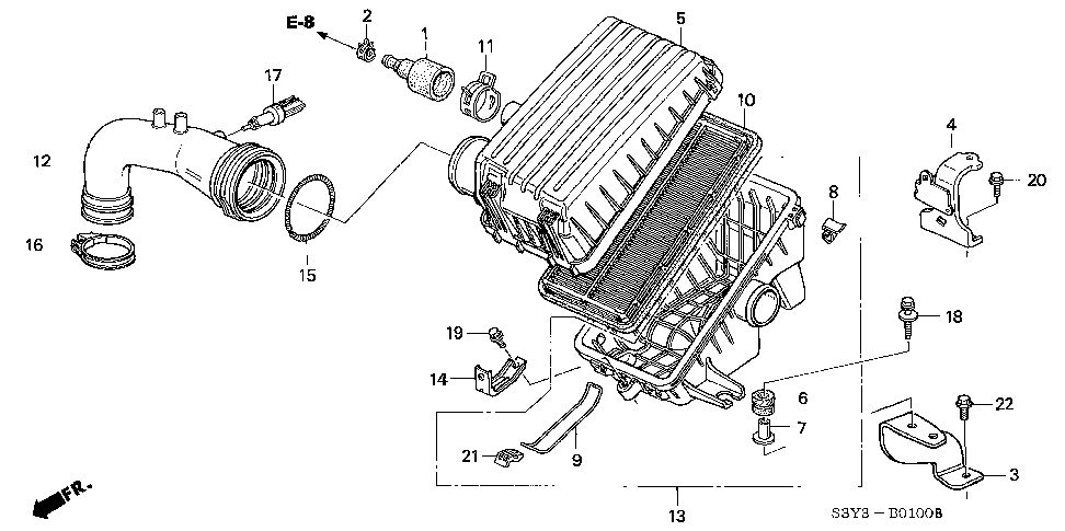 17137-PHM-000 - RUBBER, BREATHER JOINT