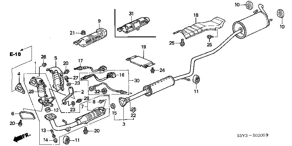 18230-SV4-000 - SPRING, FLEXIBLE JOINT