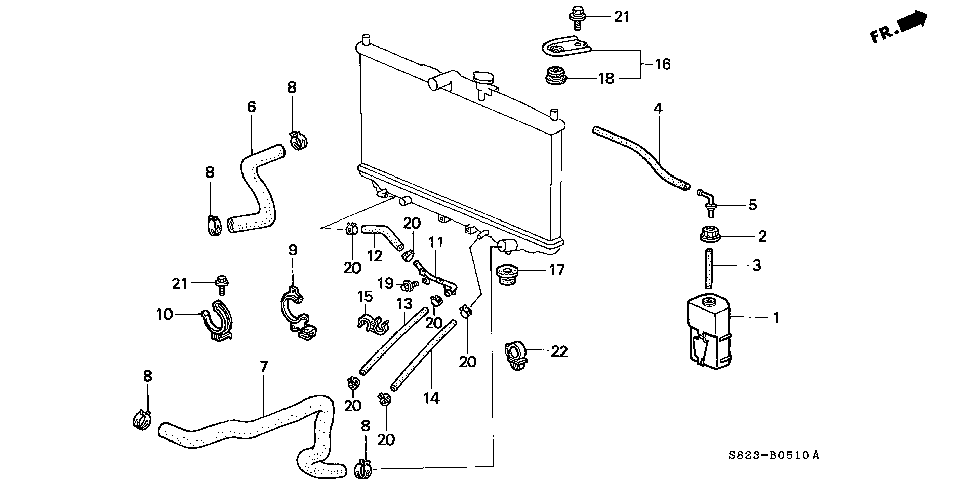 25210-PAA-020 - PIPE C (ATF)