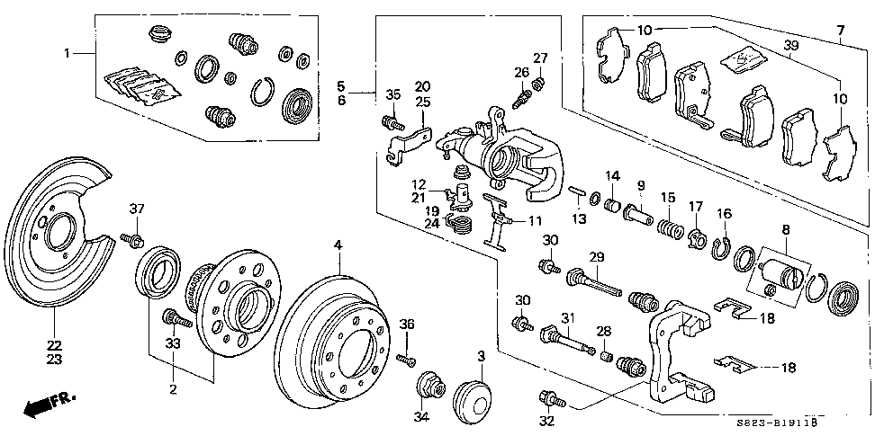 43228-S84-A13 - LEVER, R.