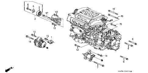 Delco 10si Alternator Parts Diagram