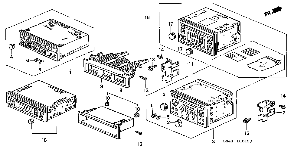 39103-S84-A11 - KNOB, ON-OFF VOLUME CONTROL