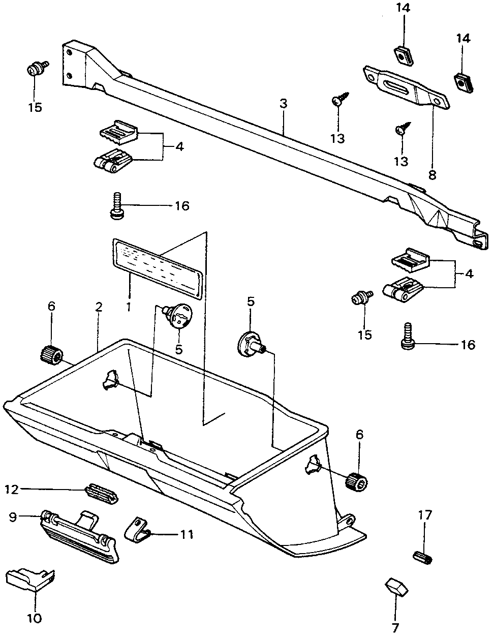 42762-SA0-751 - PLACARD, SPECIFICATION
