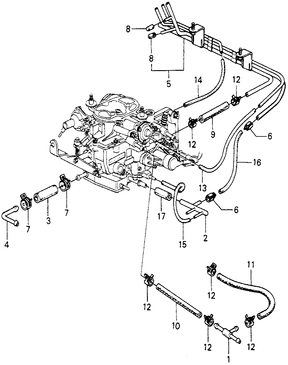 17400-PA6-661 - PIPE A, INSTALL