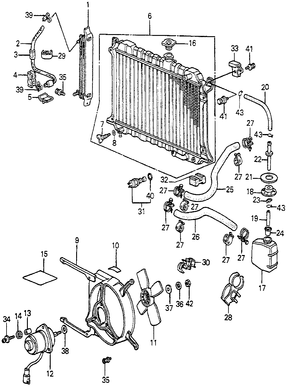 19106-689-000 - JOINT, RESERVE TANK