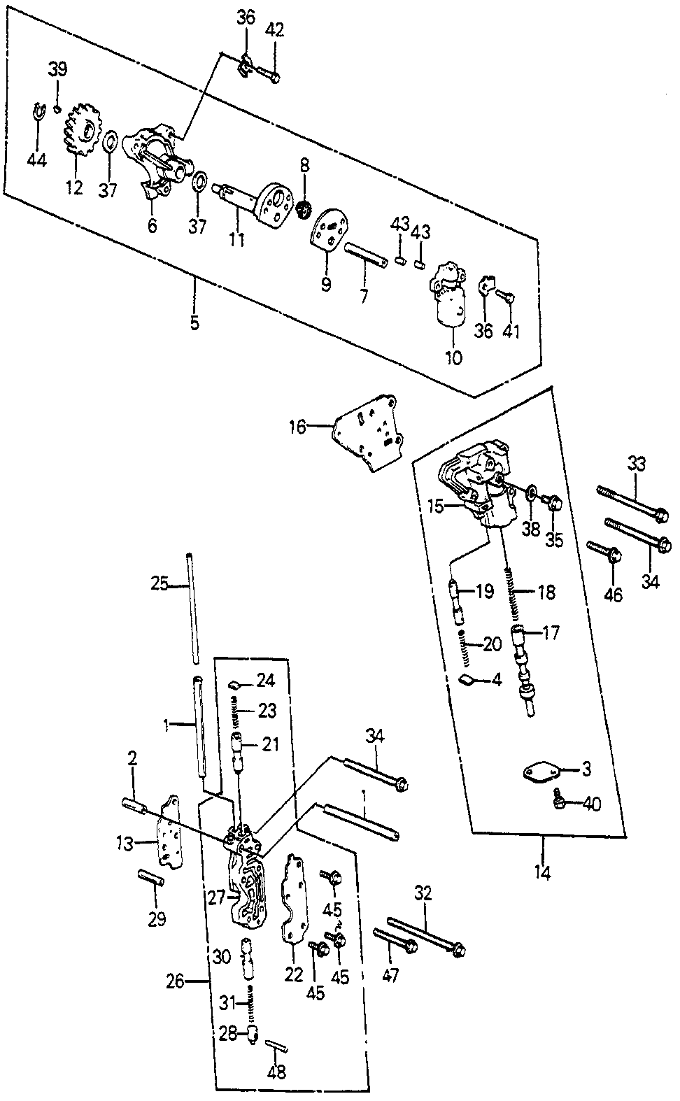 27643-PC9-950 - COVER, CLUTCH PRESSURE CONTROLVALVE