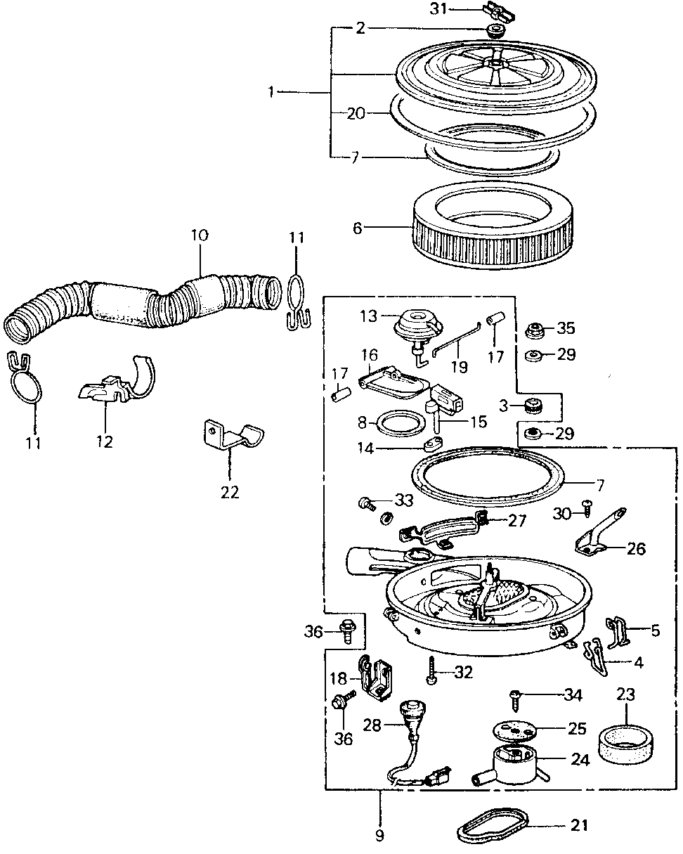17242-PA6-013 - PIPE, AIR IN.