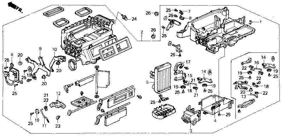 79184-SF1-A01 - LEVER, MAX COOL