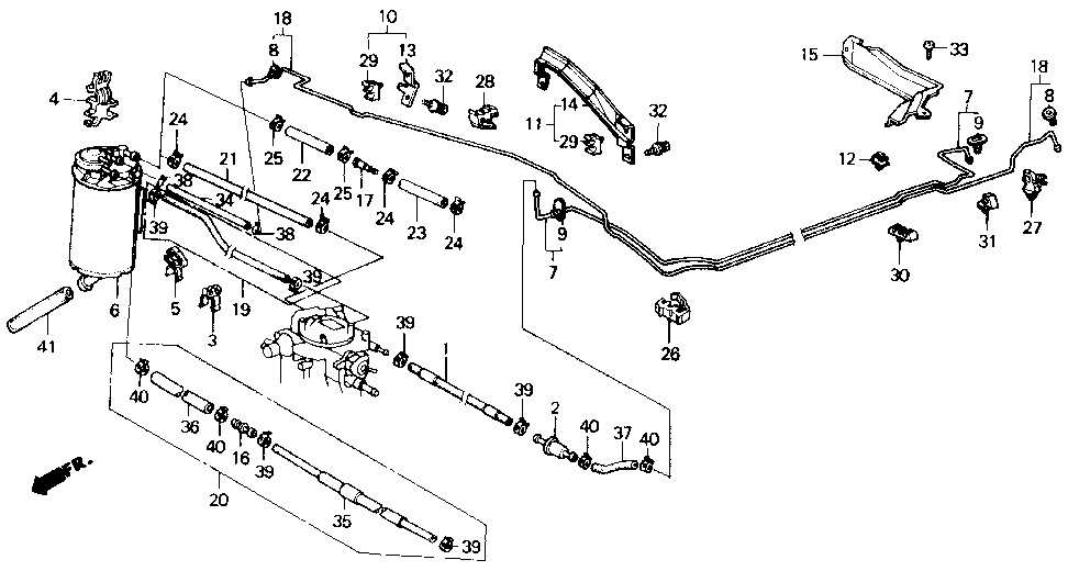 17700-SE0-A02 - PIPE, FUEL FEED