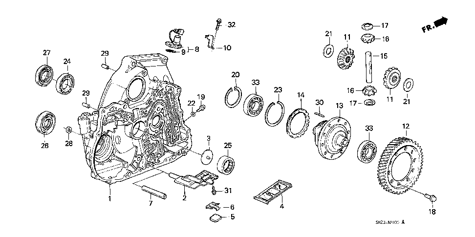 25425-PL4-300 - PIPE, SUCTION