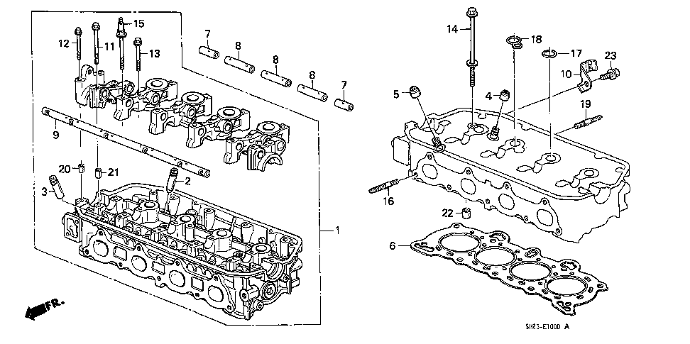 12100-PM6-000 - CYLINDER HEAD ASSY.