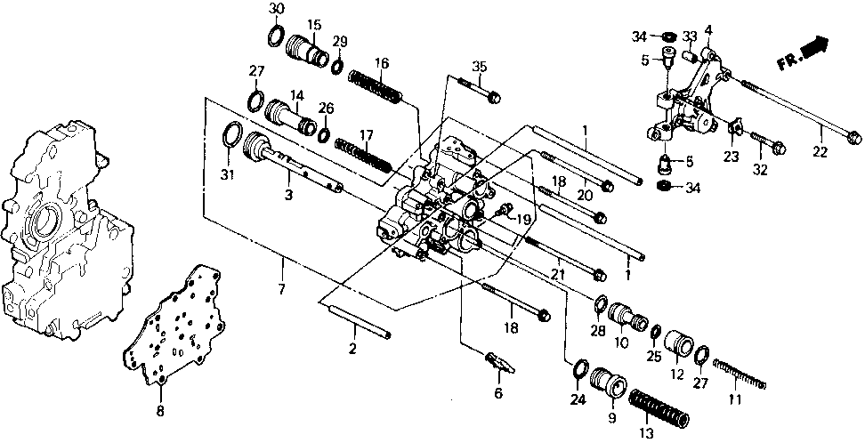 22744-PG4-000 - PIPE, TOP CLUTCH