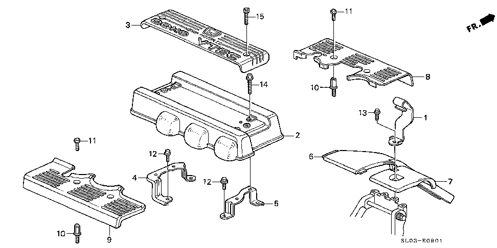17112-PR7-A00 - PLATE, IN. MANIFOLD TOP