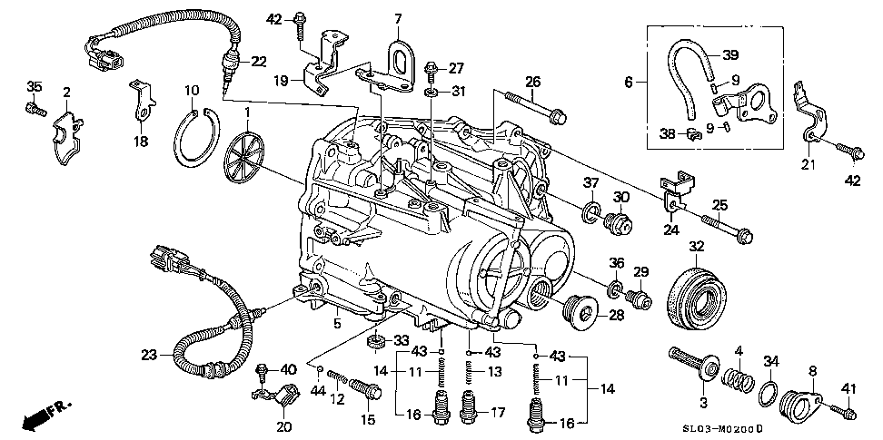 21106-PR8-000 - PLATE, BREATHER CHAMBER