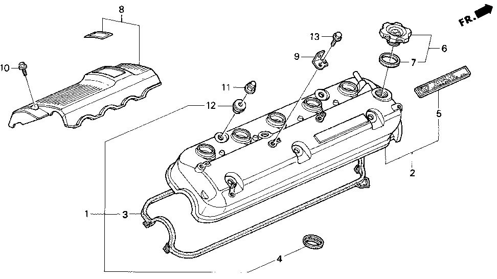 17111-PV1-A00 - COVER ASSY., IN. MANIFOLD
