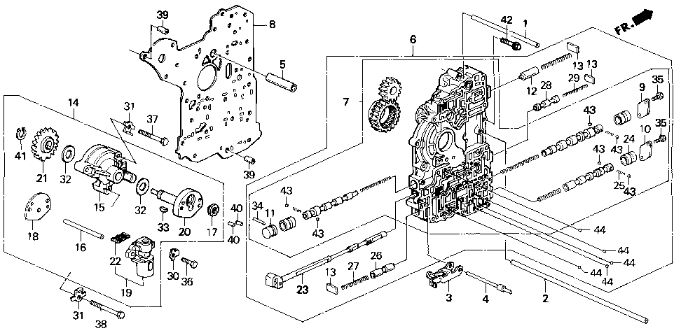 27310-P24-J00 - HOLDER, GOVERNOR
