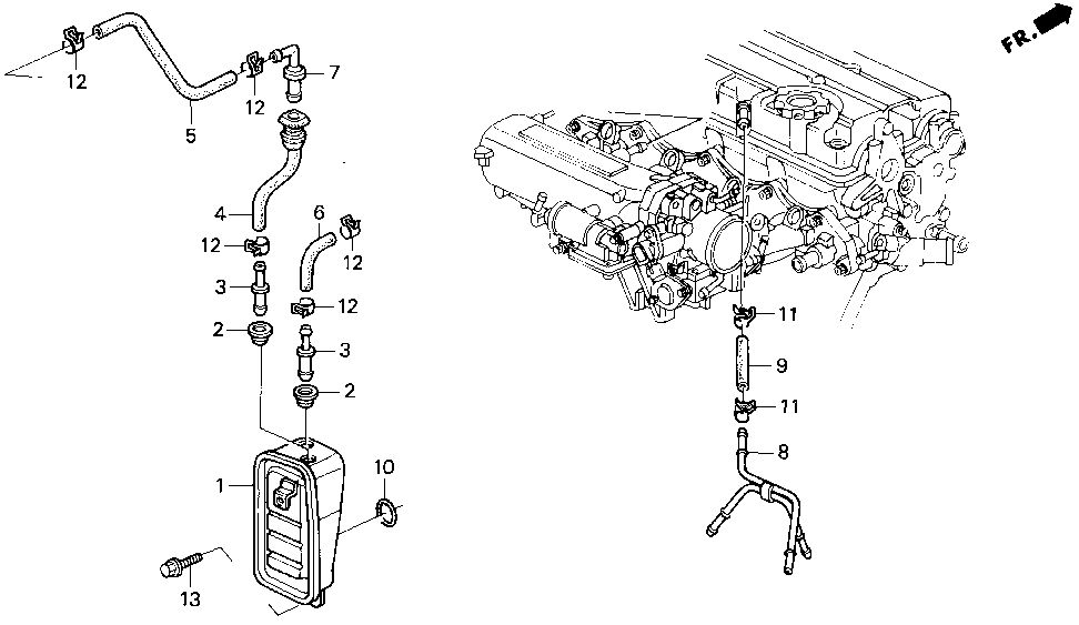 17135-P30-000 - PIPE, BREATHER