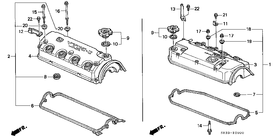 12310-P10-A00 - COVER ASSY., CYLINDER HEAD