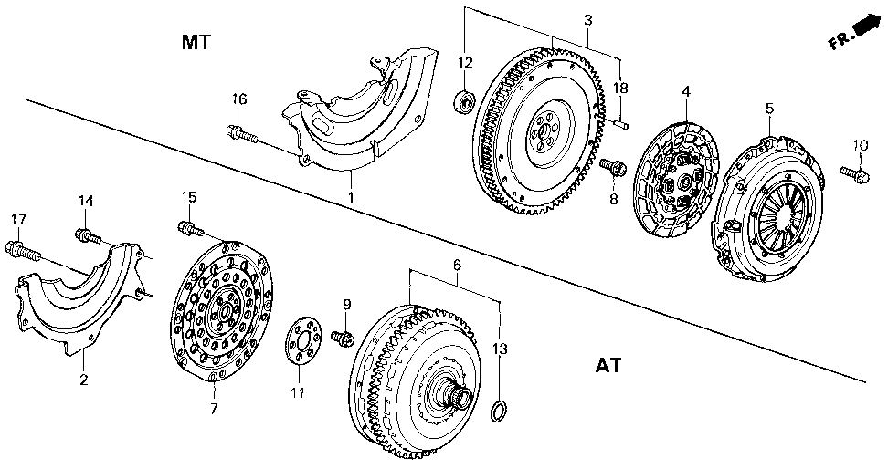 22100-P09-000 - FLYWHEEL