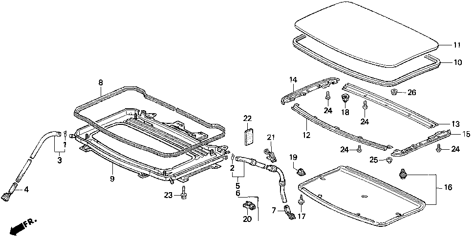 70273-SS0-003 - HOLDER, R. SIDE