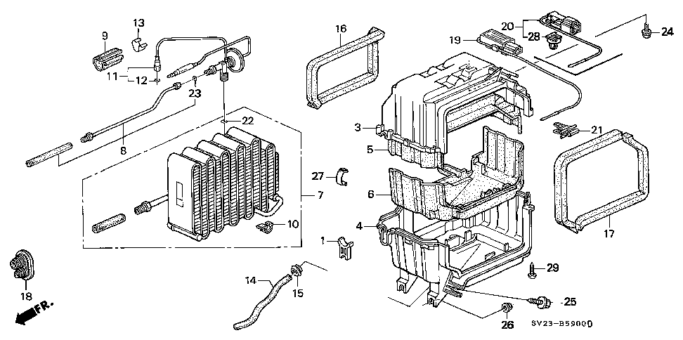 80430-SV4-003 - THERMOSTAT, AIR CONDITIONER (OMRON)