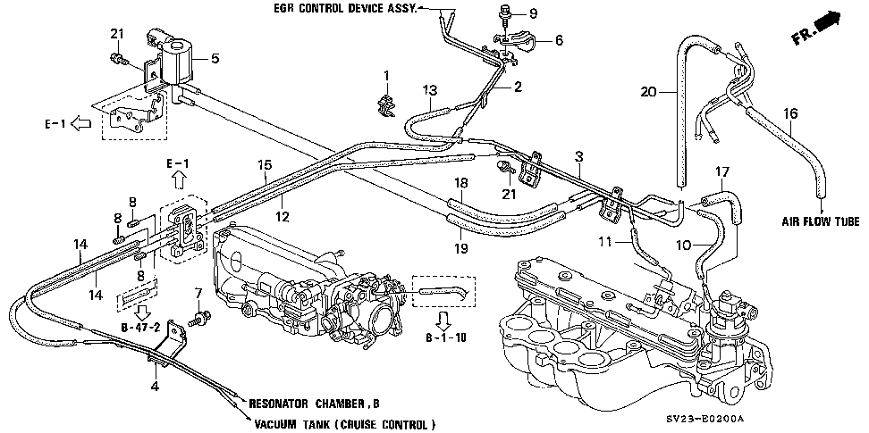 17410-P0A-A00 - PIPE B, INSTALL