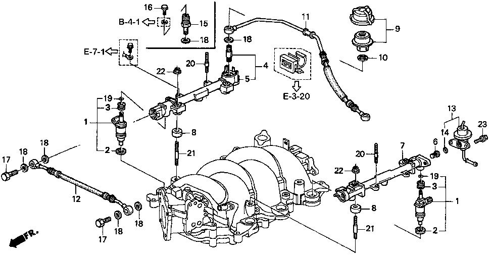 16610-P5G-000 - PIPE, R. FUEL