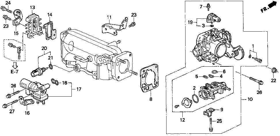 17111-P0H-A00 - CHAMBER, BOOST