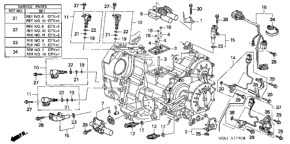 28600rke004 Switch Assy At Oil Pressure Bernardi Partsrhbernardiparts: Honda Odyssey Transmission Wiring Diagram At Gmaili.net