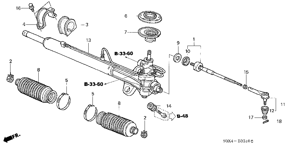 53536-S0X-A01 - WASHER, TAB
