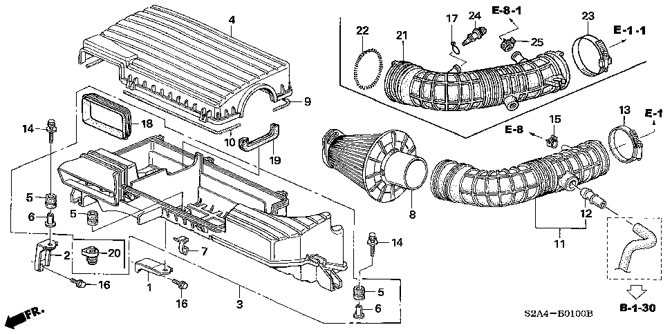 17223-PZX-000 - RUBBER, MOUNTING