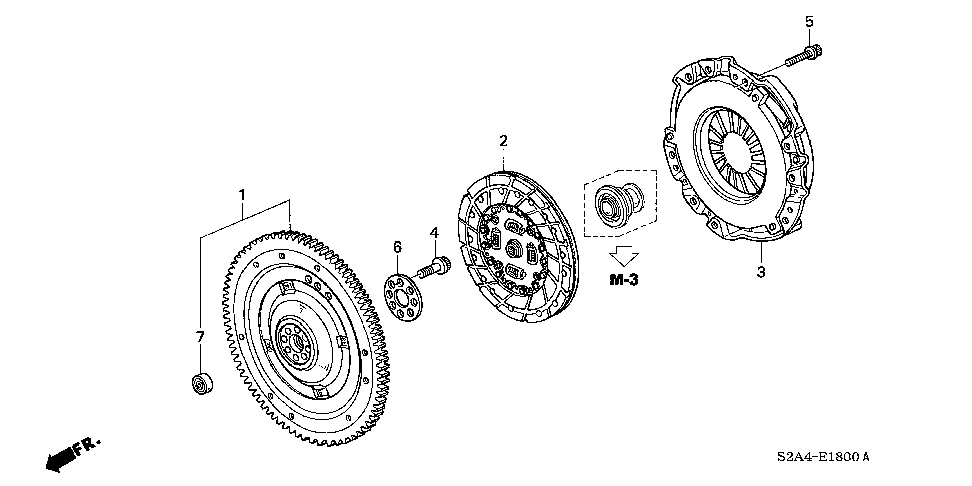 22200-PCX-055 - DISK, FRICTION