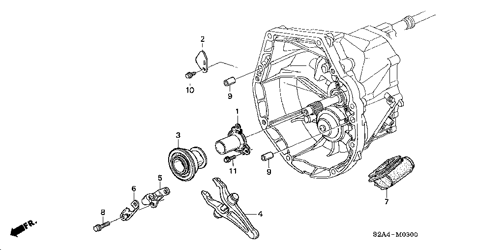 22835-PCY-000 - SPRING, RELEASE HANGER