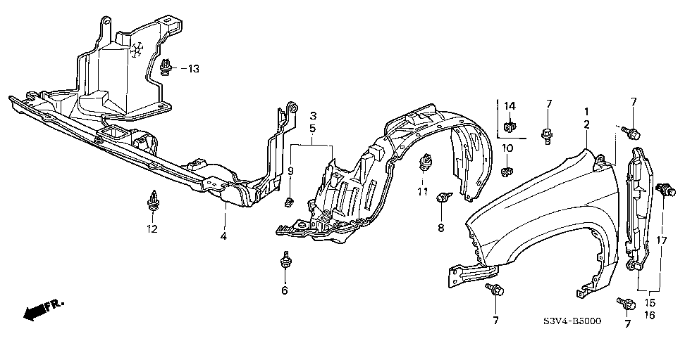 90101-S3V-A00 - BOLT-WASHER (6X26)